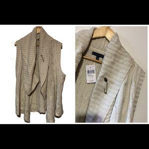 Nwt Ralph Lauren sweater vest w/ pin
